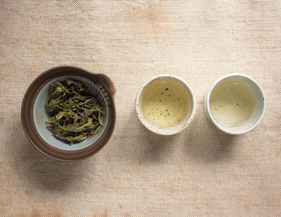 Steamed Green Tea from Thailand - Infusion