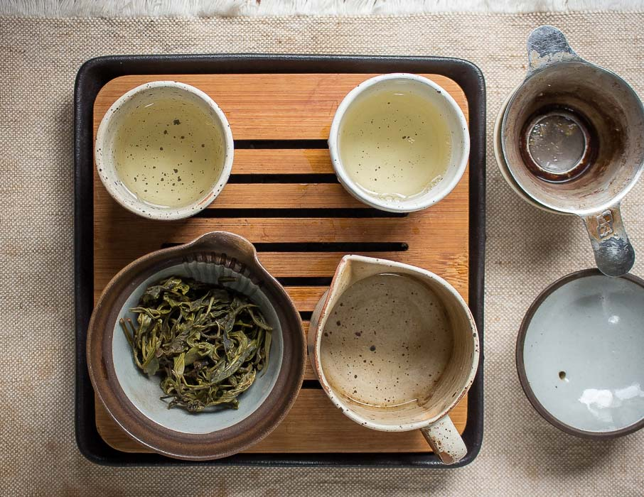 Steamed Green Tea from Thailand - Tea Ceremony
