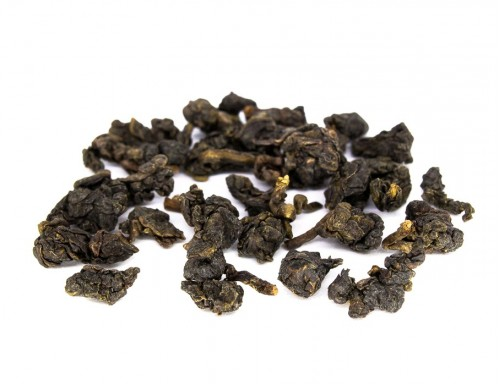 2018 Dong Ding Oolong Tea, medium roasted