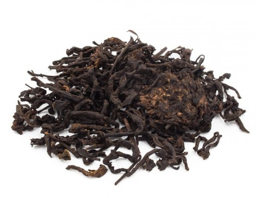 "2018 ""TEASIDE 0302"" Ripe Pu-erh Tea, loose"