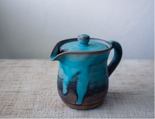 Ceramic Pitcher with Lid, 200ml