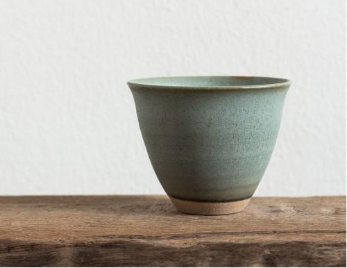 Светло-зеленая чайная чашка, 200 мл
