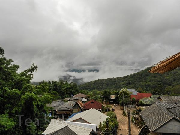 Morning in a small Thai village
