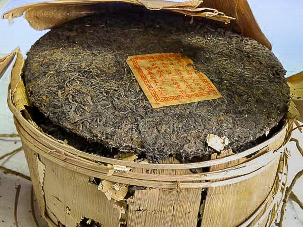 Tong of Hong Tai Chang raw pu'erh of the 50s