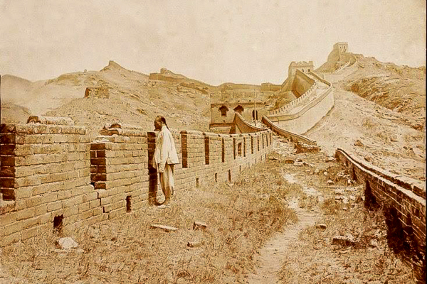 China, Great Wall, 1880s.