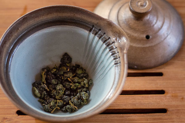 How much oolong tea per 120 ml teapot